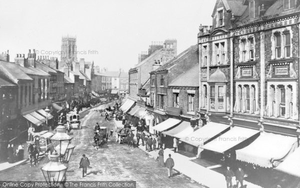 Photo of Doncaster, St Sepulchre Gate 1895