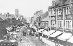Doncaster, St Sepulchre Gate 1895