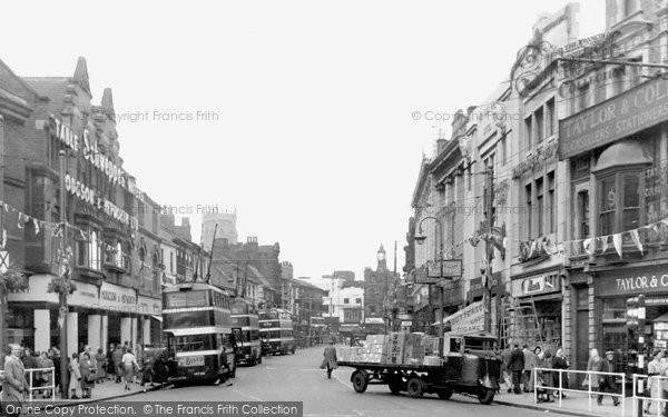 Photo of Doncaster, St Sepulchre Gate c.1955