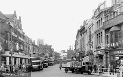 Doncaster, St Sepulchre Gate c.1955