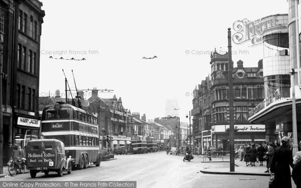 Doncaster, St Sepulchre Gate c1960