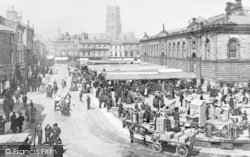 Doncaster, The Market c.1905