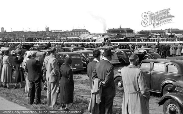 Photo of Doncaster, The Racecourse c.1955