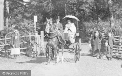 Doncaster, Visitors, Sandall Beat Wood 1900
