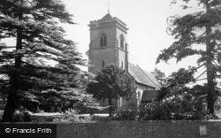 Donington, Church c.1955