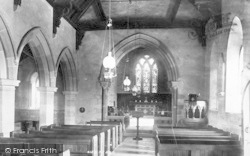Donington, Church Interior 1898