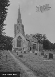 Church Of St Mary And The Holy Rood c.1955, Donington