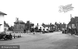 Market Place c.1955, Donington