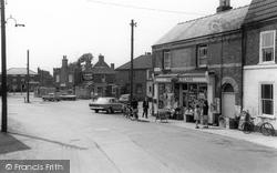 Market Place c.1965, Donington