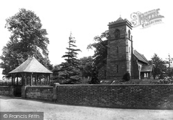 Donington, St Cuthbert's Church 1898