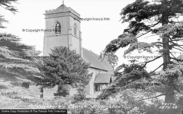 Photo of Donington, St Cuthbert's Church c.1955
