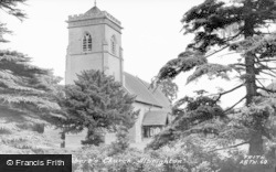 Donington, St Cuthbert's Church c.1955