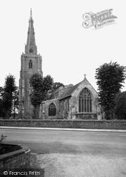 St Mary's Church c.1955, Donington