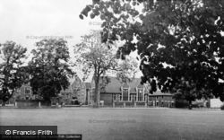 The Games Field And School c.1955, Donington