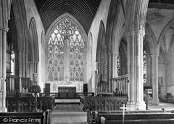 Dorchester, Abbey, East Window 1924