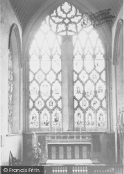 Dorchester, Abbey, East Window And Altar c.1960