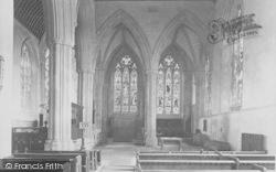 Dorchester, Abbey, South Aisle 1924