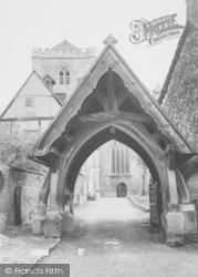 Dorchester, Abbey, The Lychgate c.1960