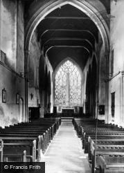 Dorchester, Abbey, The Nave c.1955