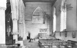 Dorchester, Abbey, The South Aisle c.1955