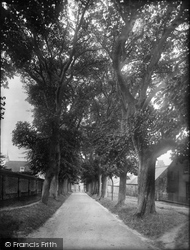 Dorchester, Bowling Green Walk 1922