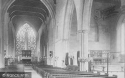 Dorchester, Church Interior 1890