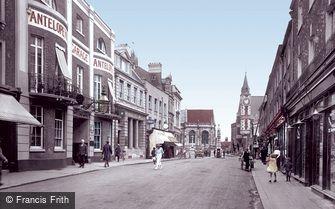 Dorchester, Cornhill 1922