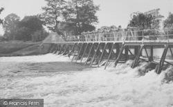 Dorchester, Days Lock Weir c.1955