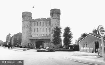 Dorchester, Dorset Regiment Museum c1955