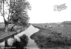 Dorchester, From The Frome Bridge 1913