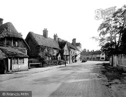 Dorchester, High Street 1924