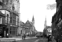 Dorchester, High West Street 1913