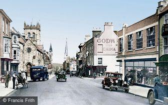 Dorchester, High West Street 1930