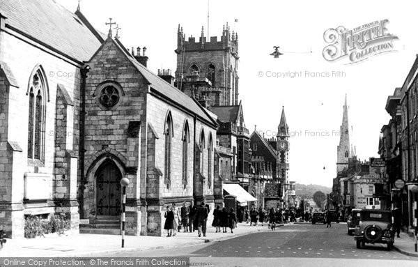Photo of Dorchester, High West Street c.1950