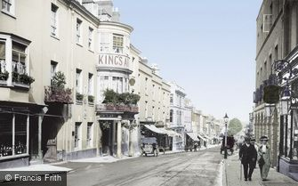 Dorchester, King's Arms Hotel 1913