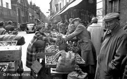 Market Day 1955, Dorchester