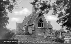 St Birinus Rc Church c.1960, Dorchester