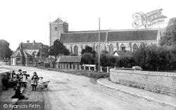 Dorchester, The Abbey 1890