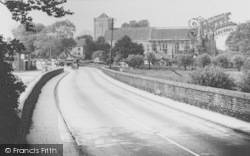 Dorchester, The Abbey c.1955