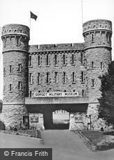 Dorchester, the Keep, Dorset Military Museum c1955
