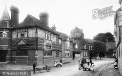 Dorchester, The Village 1890