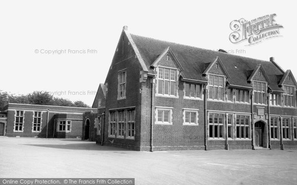 Thomas Hardy's School c1965, Dorchester