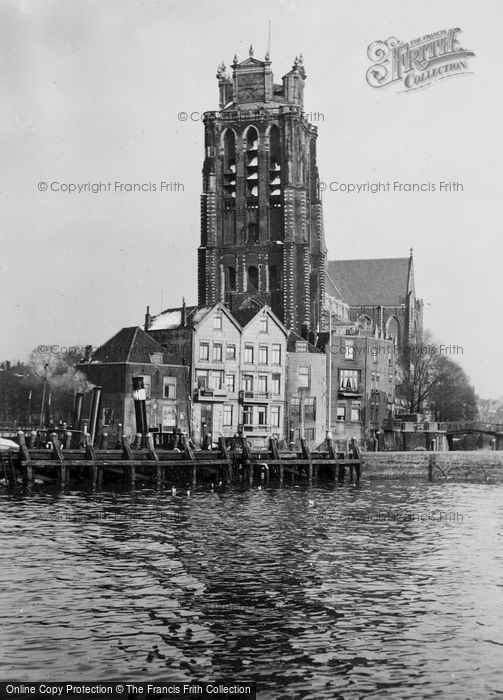 Photo of Dordrecht, Cathedral c.1930