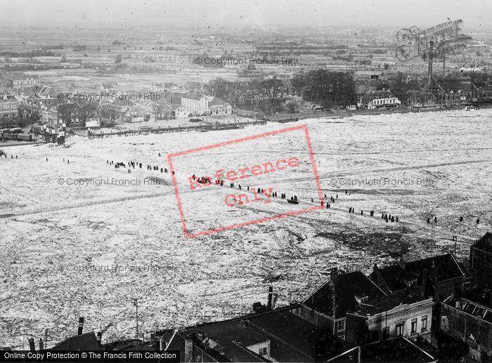 Photo of Dordrecht, In Winter c.1930
