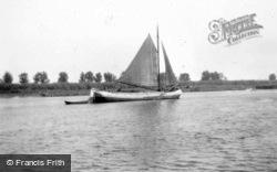 Sailing Boat c.1930, Dordrecht