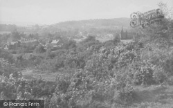 Dorking, A View Of North Holmwood 1913