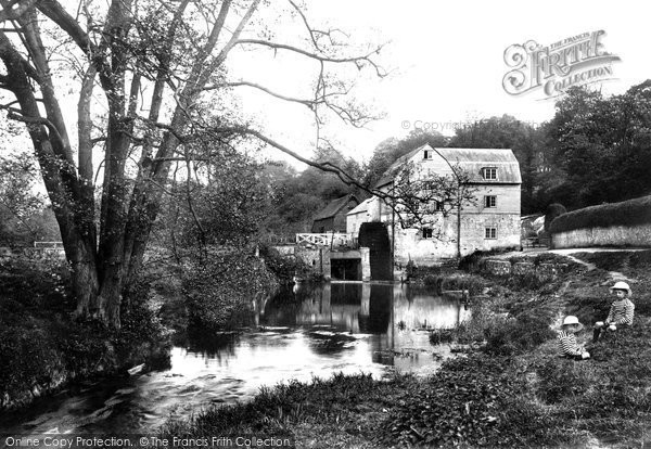 Dorking Castle Mill 1909 Francis Frith