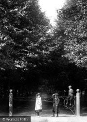 Dorking, Children At Deepdene Avenue 1906