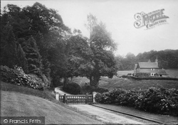 Dorking, Entrance To Deepdene 1909