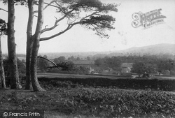 Dorking, From The Nower 1912